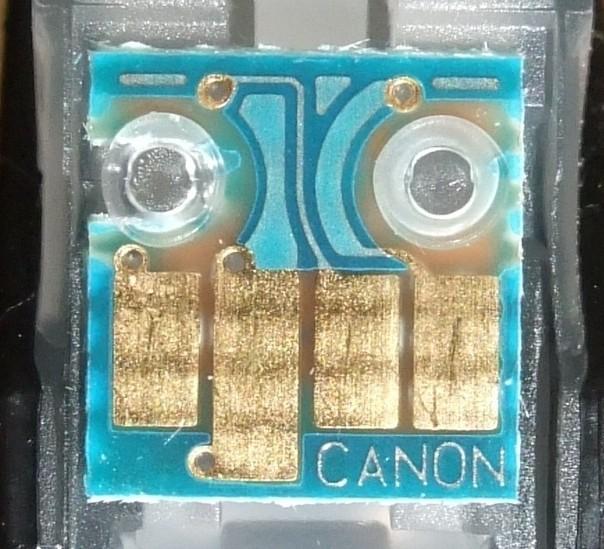 Canon CLI-521 Tintenpatrone Chip