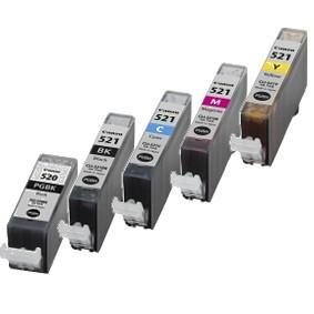 Canon Druckerpatronen CLI-521 PGI-520BK nachfüllen