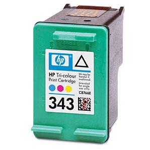 HP 343 Tintenpatrone nachfuellen