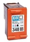 HP 348 Tintenpatronen befuellen