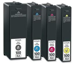 Lexmark 100 Druckerpatronen mit Chip