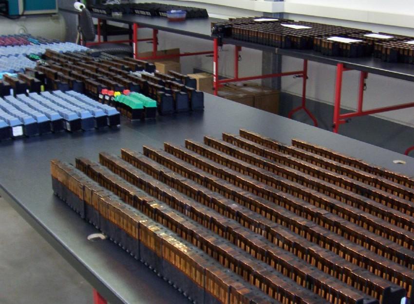 Lagerung von Refill Druckerpatronen
