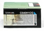 Original Lexmark C540H1CG Toner cyan return program (ca. 2.000 Seiten)