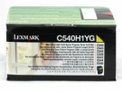 Original Lexmark C540H1YG Toner gelb return program (ca. 2.000 Seiten)