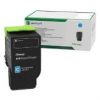 Original Lexmark 78C20C0 Toner cyan return program (ca. 1.400 Seiten)
