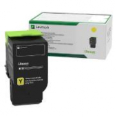 Original Lexmark 78C2XY0 Toner gelb return program (ca. 5.000 Seiten)