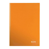Notizbuch WOW von Leitz, A4, kariert, orange-metallic