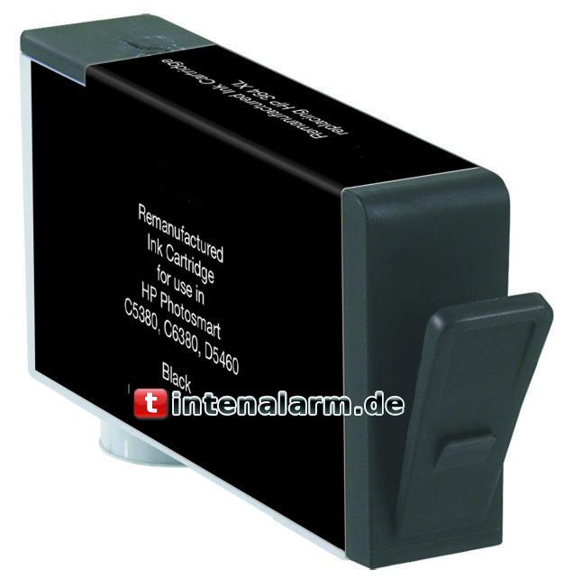 XL Druckerpatrone von tintenalarm.de schwarz (Text) ersetzt HP 364 XL, CN684EE m