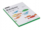 farbiges Kopierpapier Coloured Paper von Rainbow, A4, 80 g/m², 100 Blatt, intensivgrün