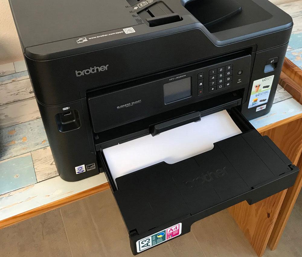 Abdeckung Papierkassette bei A3