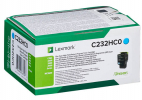 Original Lexmark C232HC0 Toner cyan return program (ca. 2.300 Seiten)