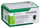 Original Lexmark C232HM0 Toner magenta return program (ca. 2.300 Seiten)