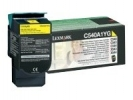 Original Lexmark C540A1YG Toner gelb return program (ca. 1.000 Seiten)