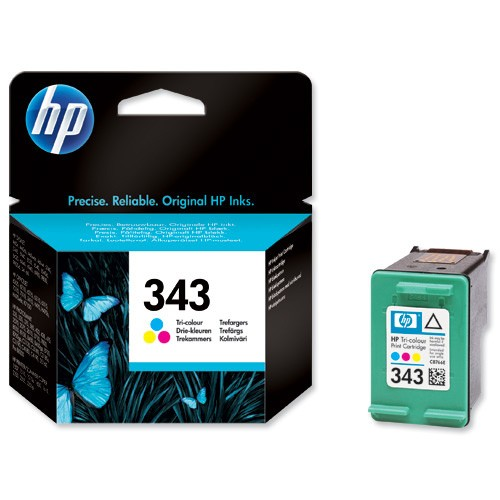 HP Druckerpatrone color 343