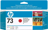 Original HP 73, CD951A Tintenpatrone rot chrom.