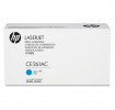 Original HP CE261AC 648A Toner cyan Contract (ca. 11.000 Seiten)