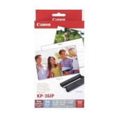 Original Canon KC-36IP 7739A001 KC-36 IP Inking Kit +InkJet-Papier Credit Card (ca. 36 Seiten)