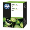 Original HP 301XL, D8J46AE Tintenpatrone color High-Capacity Doppelpack (ca. 330 Seiten)