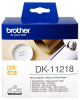Original Brother DK-11218 DirectLabel Etiketten rund