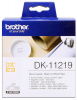 Original Brother DK-11219 DirectLabel Etiketten rund