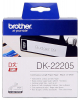 Original Brother DK-22205 DirectLabel Etiketten weiss