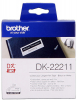 Original Brother DK-22211 DirectLabel Etiketten weiss Film