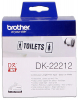 Original Brother DK-22212 DirectLabel Etiketten weiss Film