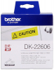 Original Brother DK-22606 DirectLabel Etiketten gelb