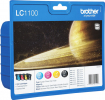 Original Brother LC1100VALBPDR LC-1100 Tintenpatrone MultiPack Bk,C,M,Y Blister Acustic Magnetic