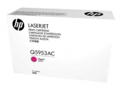 Original HP Q5953AC 643A Toner magenta Contract (ca. 10.000 Seiten)