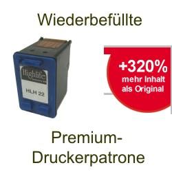 Refill Druckerpatrone druckt günstiger