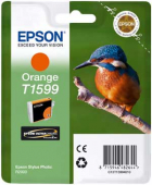 Original Epson C13T15994010 T1599 Tintenpatrone orange