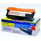 Original Brother TN-320Y Toner gelb (ca. 1.500 Seiten)