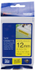Original Brother P-touch TZE-S631 yellow/black (8m x 12mm) DirectLabel schwarz auf gelb extra stark Laminat