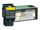 Original Lexmark C544X1YG Toner gelb return program (ca. 4.000 Seiten)