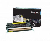 Original Lexmark X748H1YG X748 Toner gelb return program (ca. 10.000 Seiten)