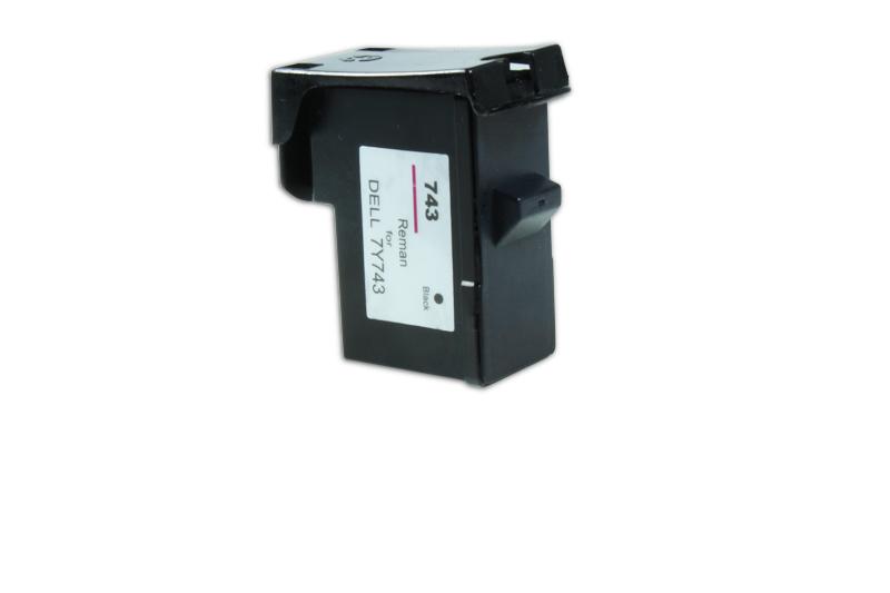 Druckerpatrone schwarz ersetzt Dell 7Y743, 592-10043