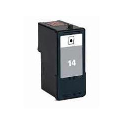 Druckerpatrone schwarz ersetzt Lexmark 14, 18C2090E