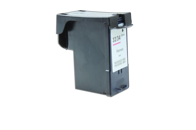 Druckerpatrone schwarz ersetzt Lexmark No 34 XL, 18C0034E