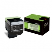 Original Lexmark 70C2XK0 702XK Toner schwarz return program (ca. 8.000 Seiten)
