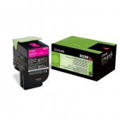 Original Lexmark 80C20M0 802M Toner magenta return program (ca. 1.000 Seiten)
