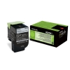 Original Lexmark 80C2SK0 802SK Toner schwarz return program (ca. 2.500 Seiten)