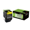 Original Lexmark 80C2SY0 802SY Toner gelb return program (ca. 2.000 Seiten)